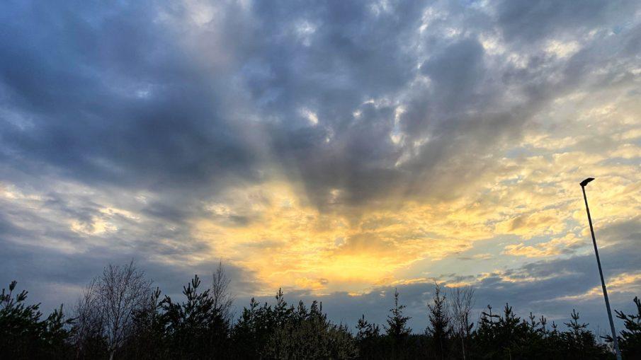 skrive på himmelen