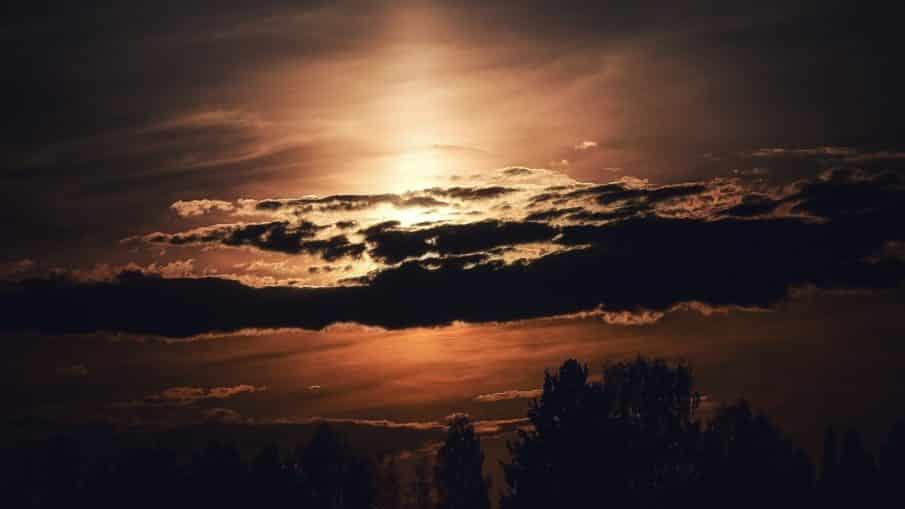 Har du noen gang sett en solnedgang.