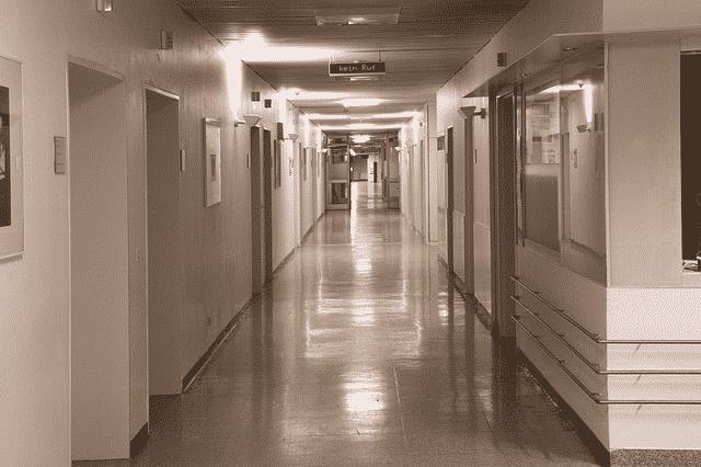 Lengden på korridoren er den et synonym