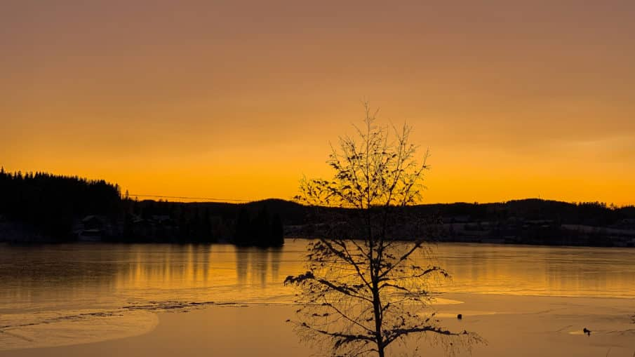 Stjele en solnedgang som om det var den siste